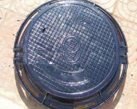 电力专用铸铁井盖