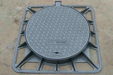 球墨铸铁井盖的喷锌处理方法
